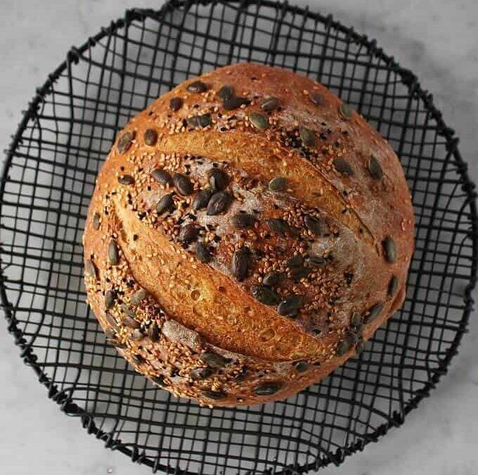 Pumpkin No Knead Bread Recipe