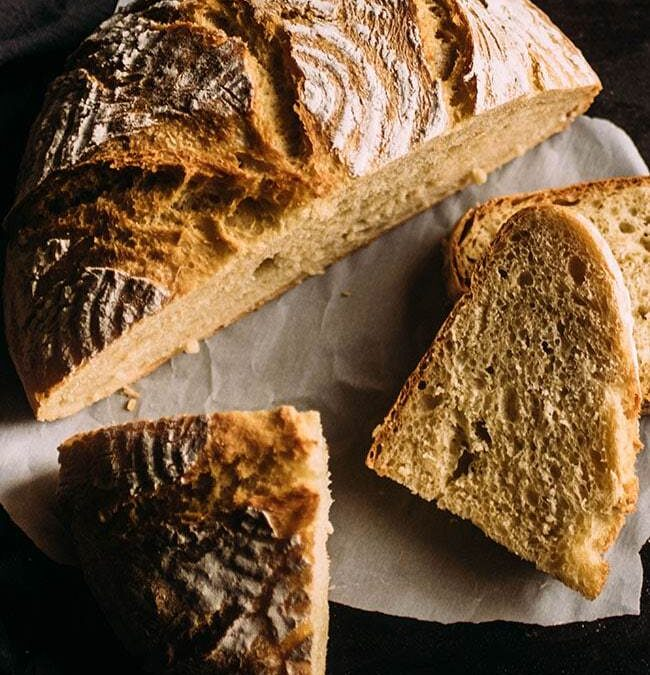Easy Crusty French Bread Recipe